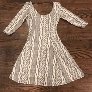 Girls cute pattern dress